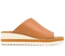 Wedge-Sandalen mit Cut-Out