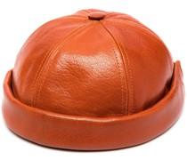 Mütze aus Leder