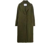 Shearling-Mantel im Oversized-Look