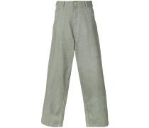 wide leg workwear trousers