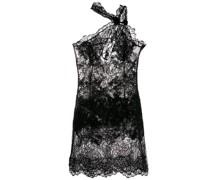 Kleid mit asymmetrischem Kragen