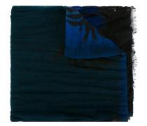 Wollschal mit Palmen-Print