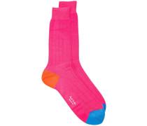 Gerippte Socken - men - Baumwolle/Polyamid