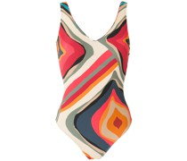 'Laila' Badeanzug mit Print
