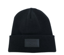 branded patch beanie