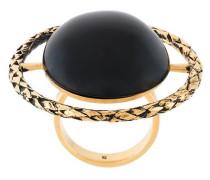 Großer Ring mit rundem Stein