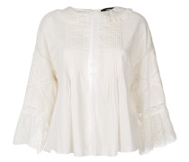 lace embroidered blouse