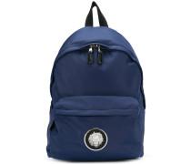 lion plaque backpack