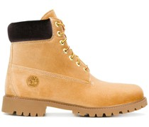 X Timberland lace-up boots