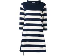 Gestreiftes Kleid - women - Baumwolle/Polyester