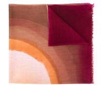 Schal mit Wasserfarben-Print