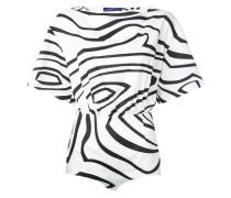 - Body mit Wellen-Print - women - Baumwolle - 42