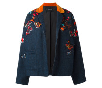 'Butterflies' Jacke mit Stickereien