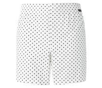 Gepunktete Shorts