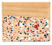 paint splatter cardholder