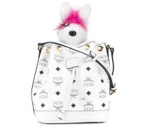 Visetos drawstring bag with charm - women