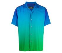 Kastiges Hemd mit Farbverlauf