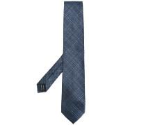 cross hatch patterned tie