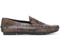 Loafer in Schlangenlederoptik