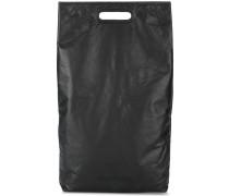 black small rectangle tote