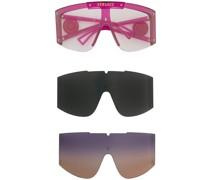Sonnenbrille mit austauschbaren Gläsern