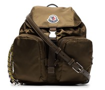 Green Dauphine small backpack