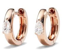Ohrringe mit einem Diamanten