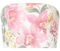 Top mit Lotus-Print