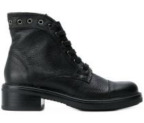 Stiefel mit Reißverschlussdetail