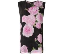 Seidentop mit floralem Print - women - Seide
