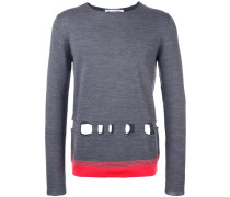 Pullover mit Cut-Outs - men - Acryl/Wolle - S