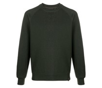 crew neck rib-trimmed sweatshirt