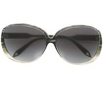 Sonnenbrille mit ovalem Gestell