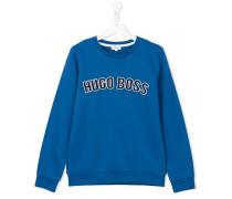 Sweatshirt mit Logostickerei - kids