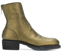 Stiefeletten im Metallic-Look