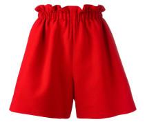 - wide leg shorts - women - Seide/Wolle - 42