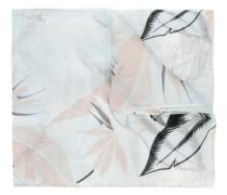 Schal mit Feder-Print