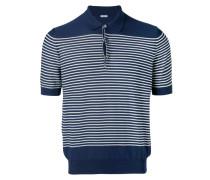Gestreiftes Poloshirt - men - Baumwolle - 54