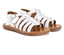 Sandalen mit Riemchen - kids - Leder/rubber - 28