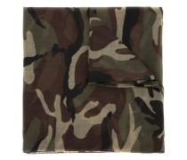 Wollschal mit Camouflage-Print