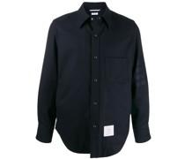 Flanell-Hemdjacke mit Druckknöpfen