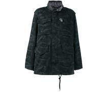 - Oversized-Jacke mit Camouflage-Print - women