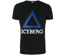 T-Shirt mit dreieckigem Logo