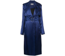 fitted metallic coat