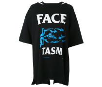 Boyfriend-T-Shirt mit Print