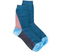 paneled socks