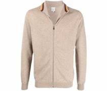 zip-up cashmere jumper