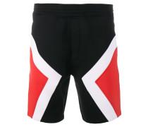 tricolour modernist shorts