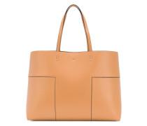 Handtasche mit offenem Design