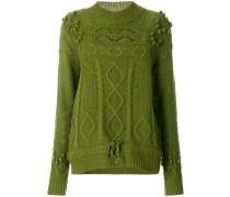 'Ostille' Pullover mit Strickmuster